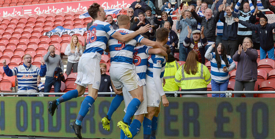 R's players and fans alike celebrate